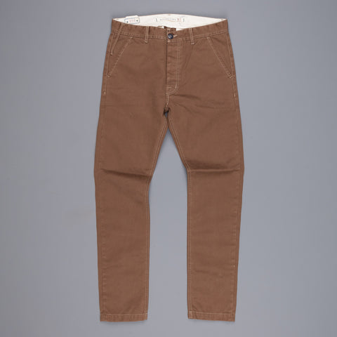 Scartilab twill chino's Tabac