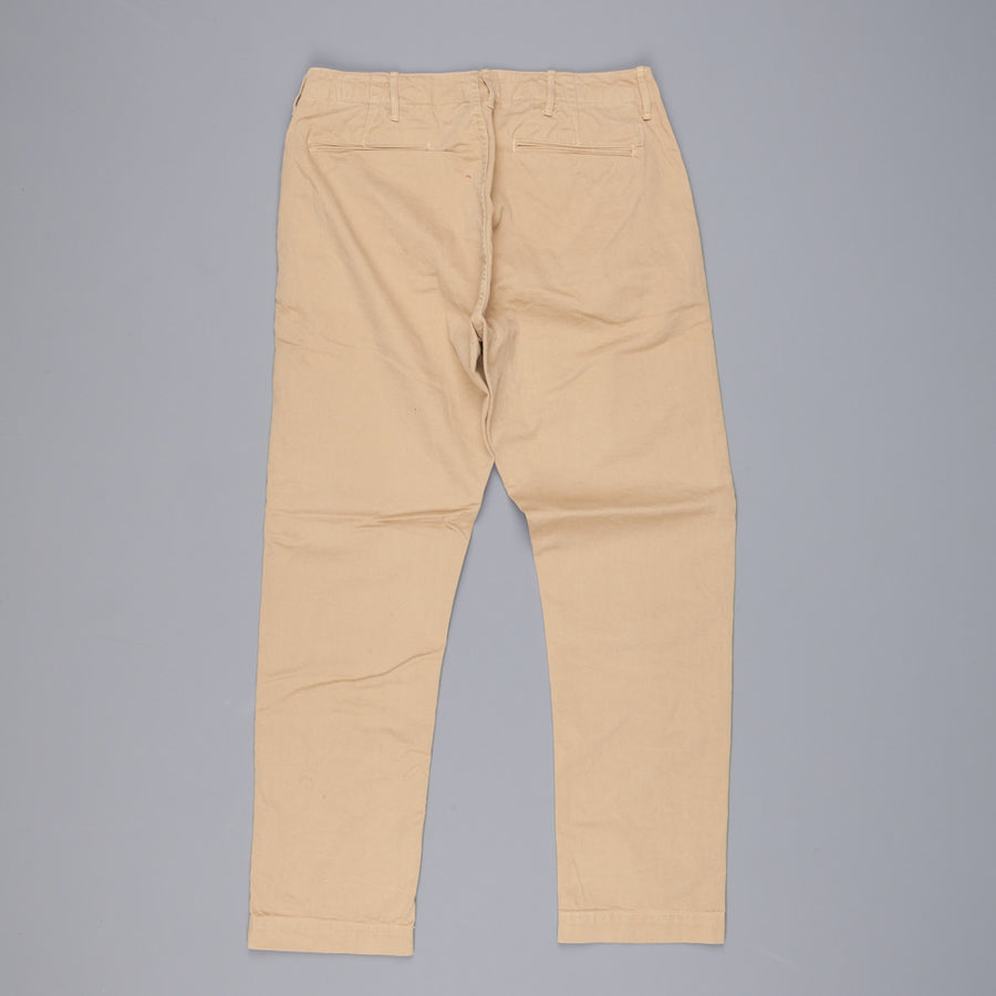Orslow  slim Fit army trouser khaki