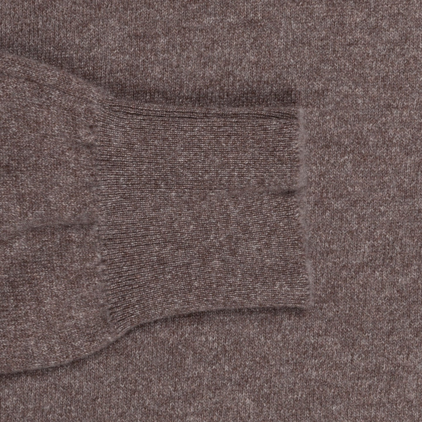 Scott and Charters x Frans Boone crew neck cashmere cotton Elk