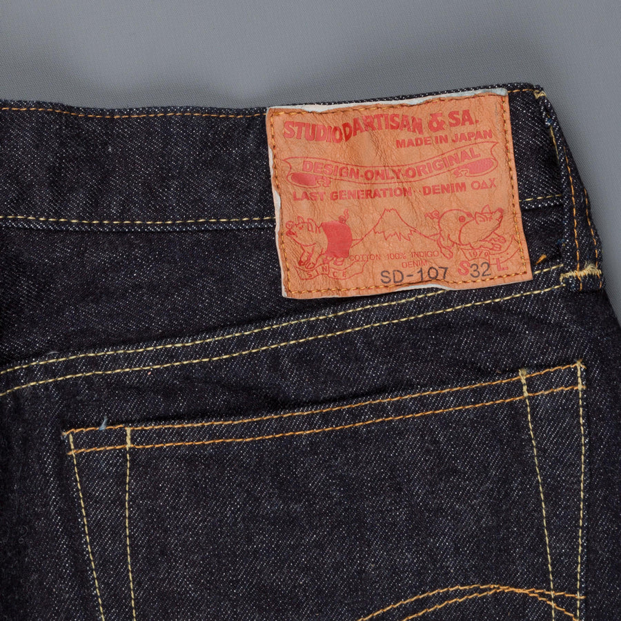 Studio d'Artisan SD 107 supertight straight fit jeans one wash