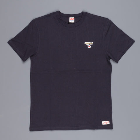 Tsptr Surfs up Snoopy tee navy