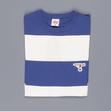 Tsptr Surf tee Striped Royal Blue White