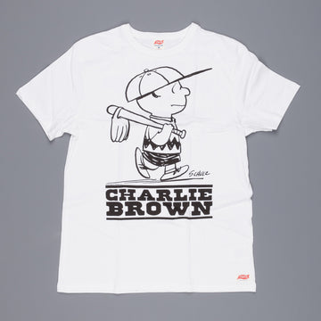 TSPTR Baseball Charly Brown Tee White