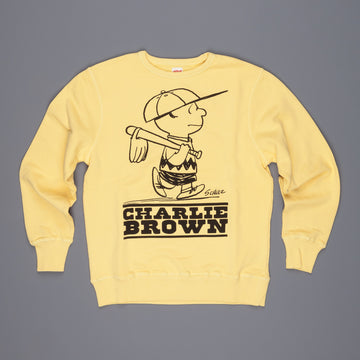 TSPTR Baseball Charly Brown Crew Neck Sweat Yellow