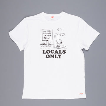 Tsptr Locals Only ss tee white