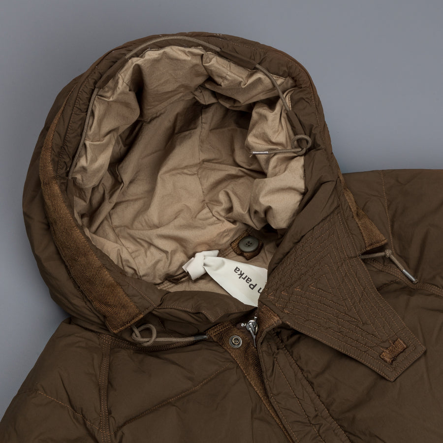 Ten C Artic Down Parka Dark Olive