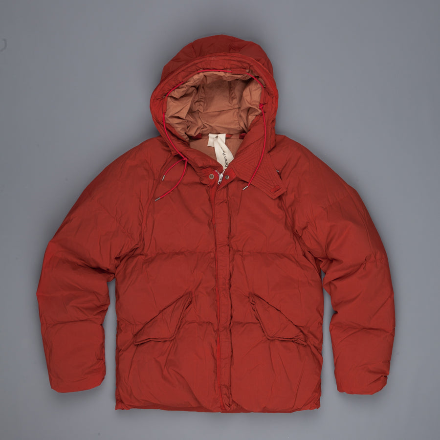Ten C Artic Down Parka Dark Red