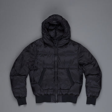 Ten C Hooded Down Filling Mid Layer Navy