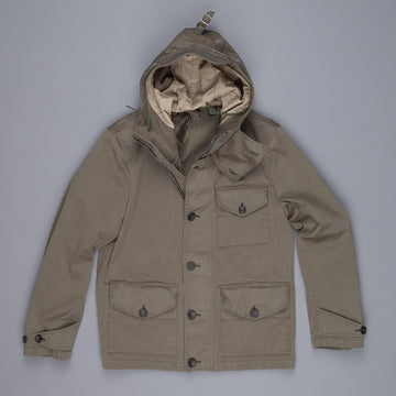 Ten C Navy jacket dark olive