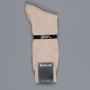 Pantherella Cashmere Waddington Socks Natural