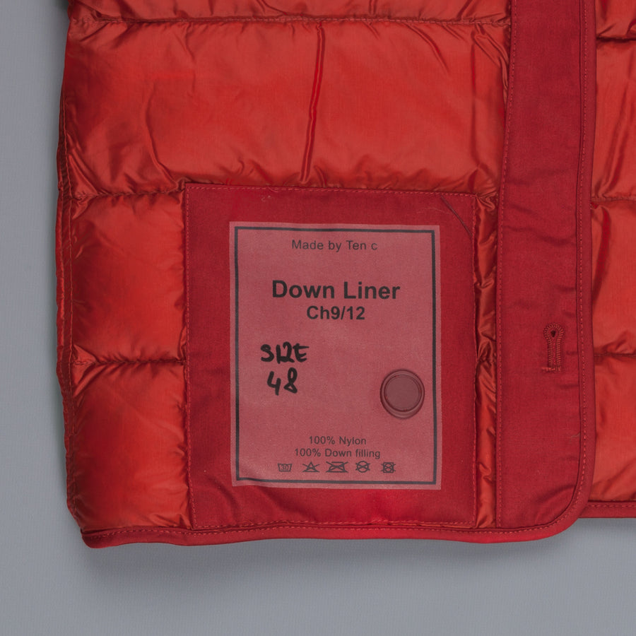 Ten C New Down Liner Red