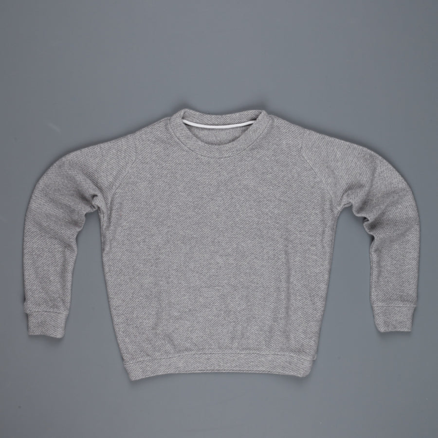 The Elder Statesman Herring Crew Light Grey