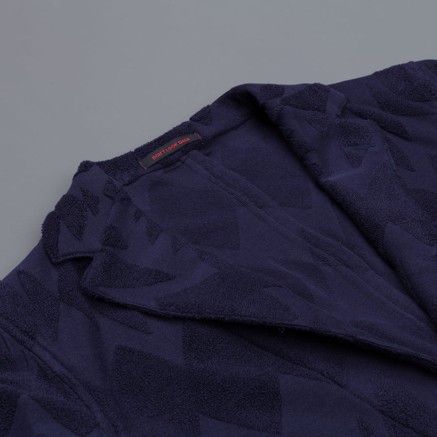 The Gigi Angie jacket in jaquard jersey navy