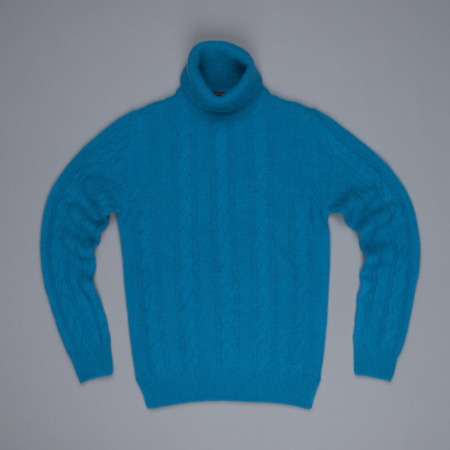 The Gigi Edgar wool alpaca sweater Bluette