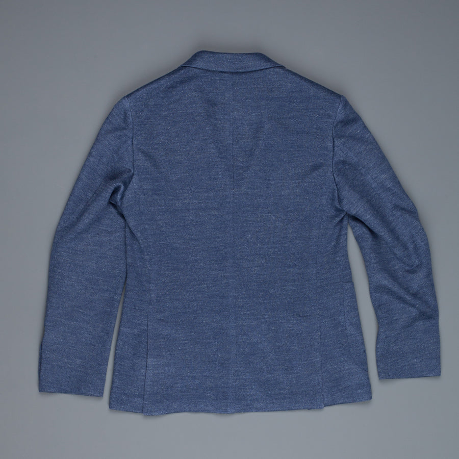 The Gigi Velvet Unlined jersey jacket Indigo blue