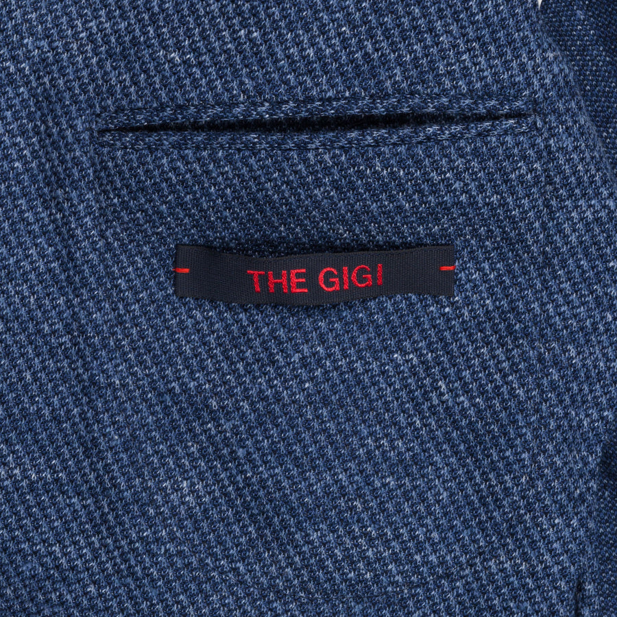 The Gigi Degas jersey jacket blue