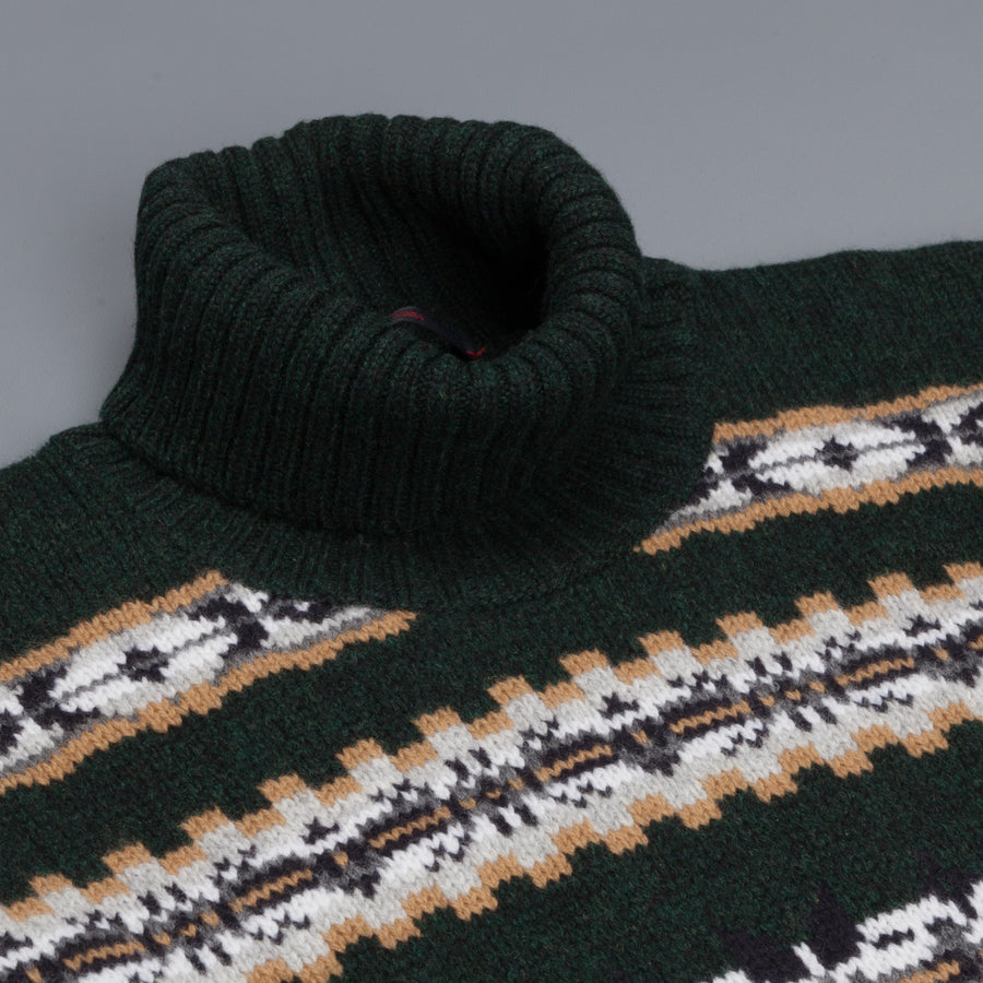 The Gigi Alfred turtle neck dark green