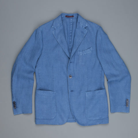 The Gigi linen jacket blue