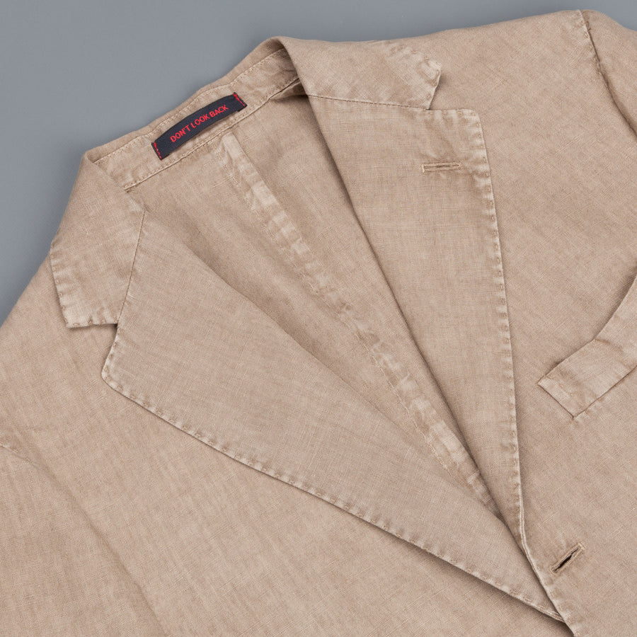 The Gigi linen jacket beige