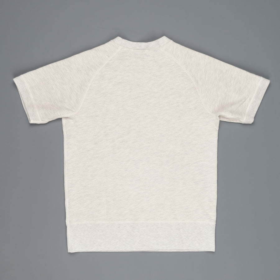 Velva Sheen 8oz Shortsleeve Freedoms Sweat Oatmeal