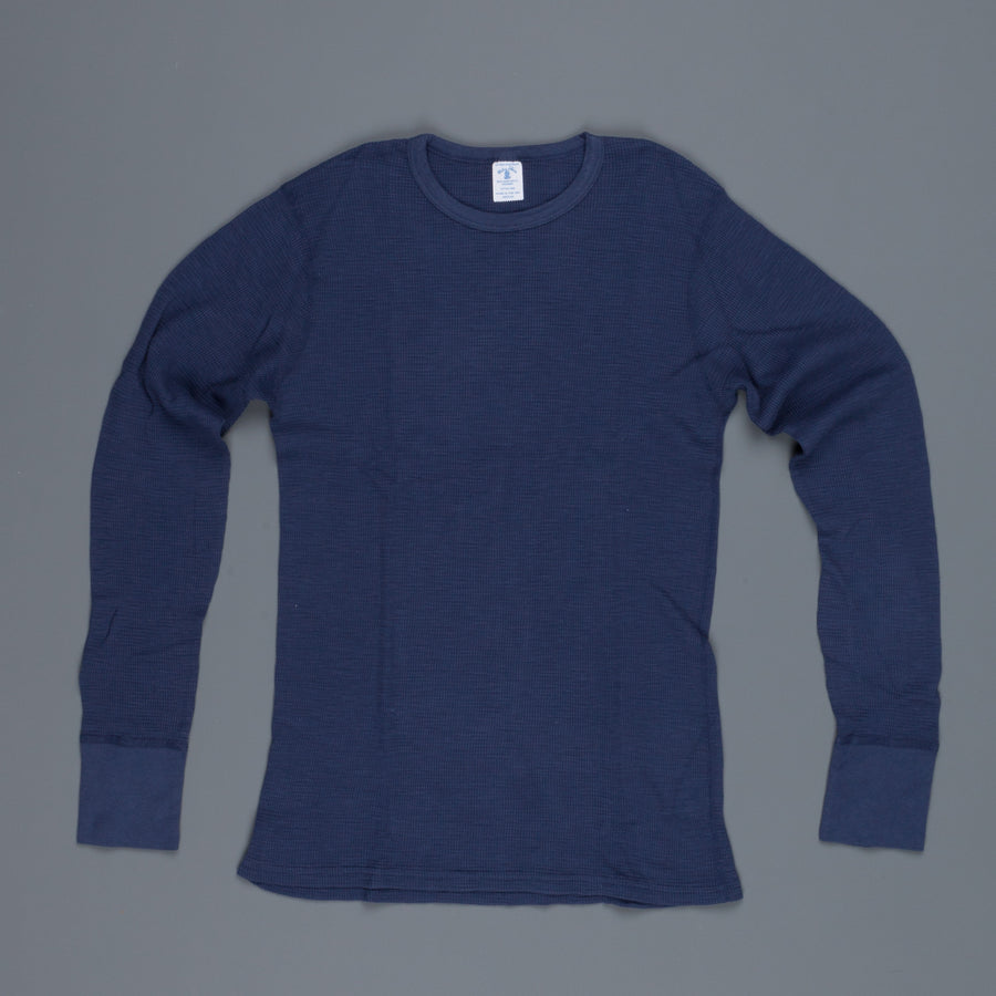 New Stock! Velva Sheen thermal tee navy