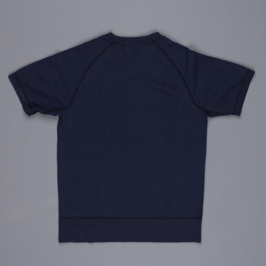 Velva Sheen 8oz Shortsleeve Freedoms Sweat Navy