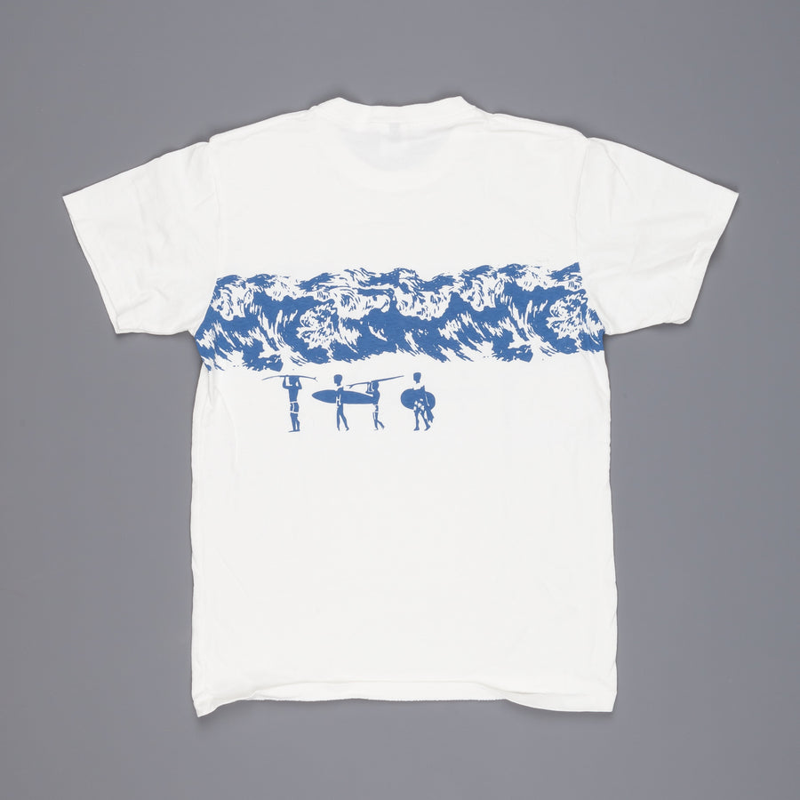 Velva Sheen Surf tee white