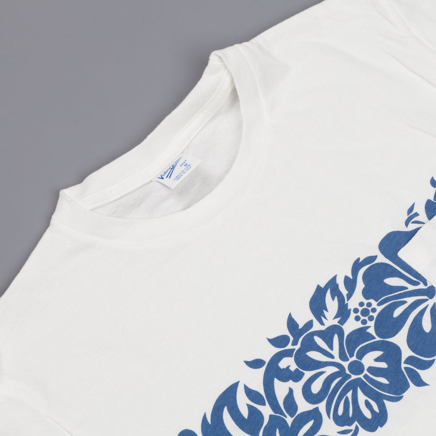 Velva Sheen Lei tee white