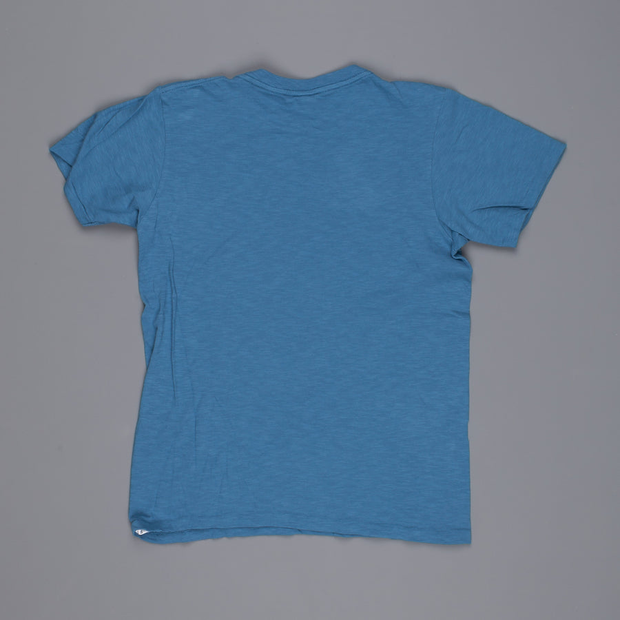 Velva Sheen shortsleeve music tee blue
