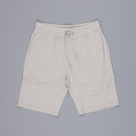 Wahts Key pique sweat shorts Light marl grey
