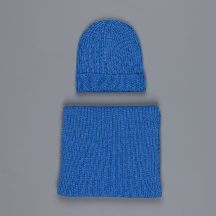 William Lockie Cashmere Ribbed Hat And Scarf Set M10064 – Frans ... c23aa1f6f8a