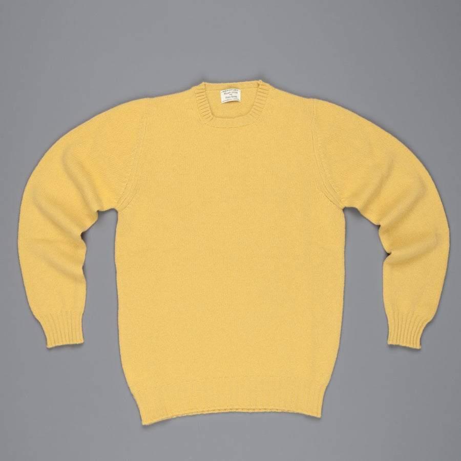 William Lockie Gullan Super Geelong Crew Neck Brass