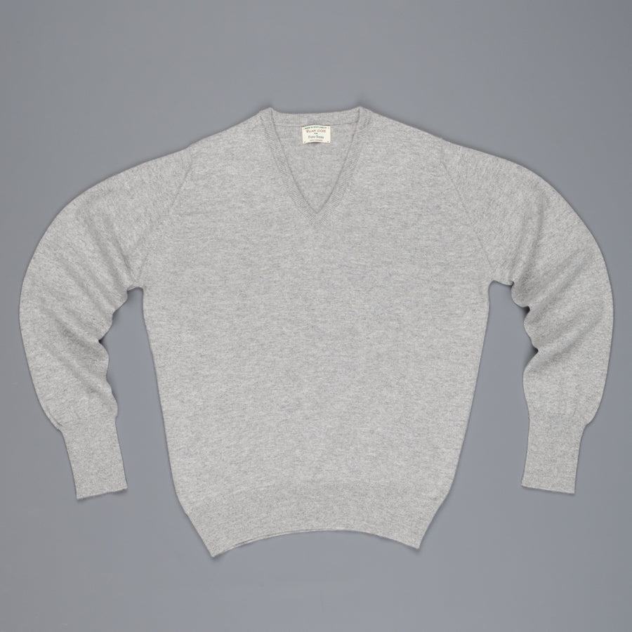 William Lockie Oxton Cashmere V-Neck Brume
