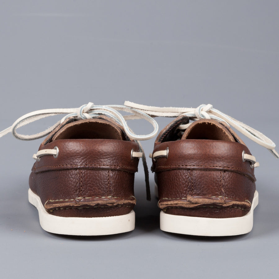 Yuketen Boat shoe CXL scotch grain brown