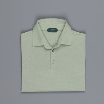 Zanone Polo MC Crepe Cotton Oliva Chiaro