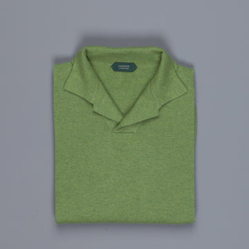 Zanone ML Polo Without Buttons Ramarro