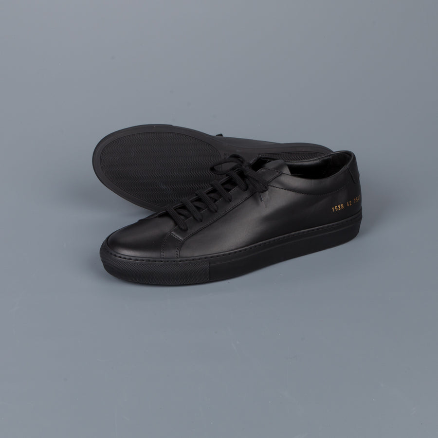 Common Projects Original Achilles Low 1528 Black