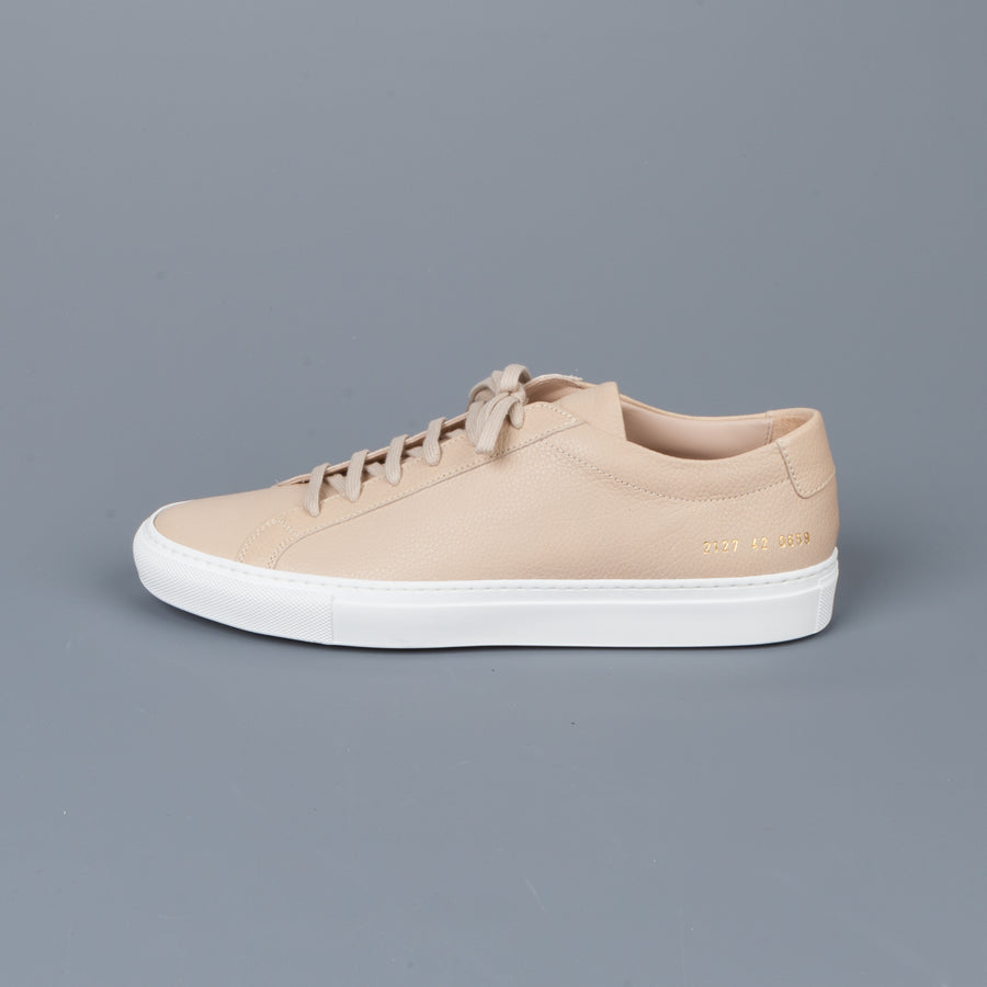 Common Projects Original Achilles low Premium Nude