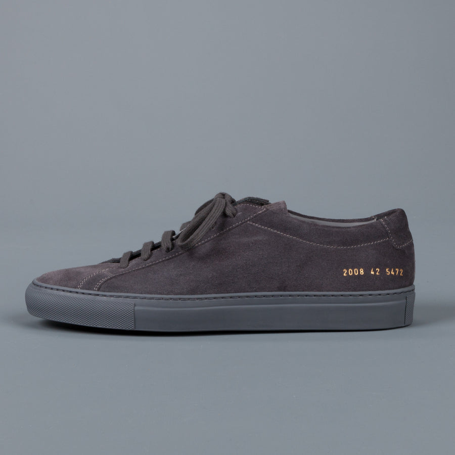 Common Projects Achilles low in suede Grey