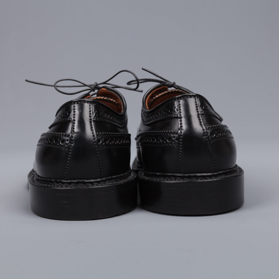 Alden black cordovan longwing