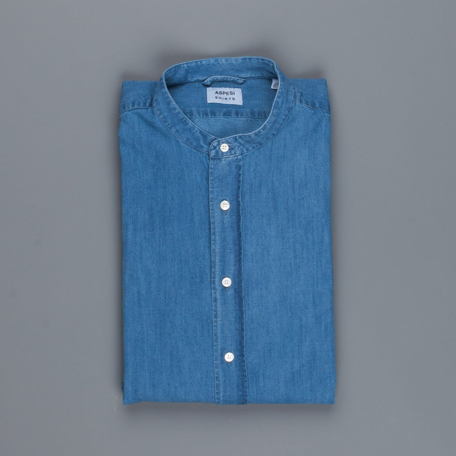 Aspesi cotton Bruce shirt denim medio