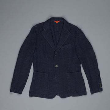 Barena Piero Datolo linen cotton Jacket navy