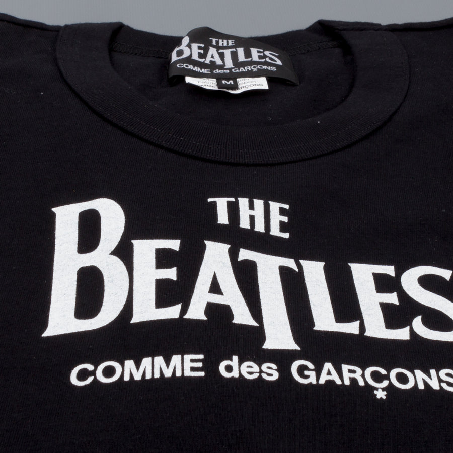 The Beatles x Comme des Garçons  T shirt The Beatles Black