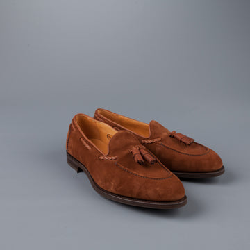 Edward Green Belgravia in Snuff Suede on R1