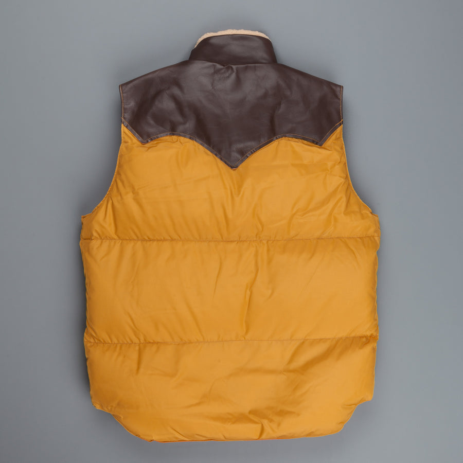 Rocky Mountain Featherbed Christy vest nylon Mustard