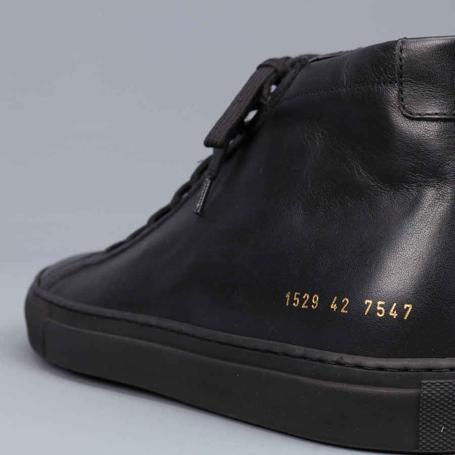 Common Projects Achilles Mid Black
