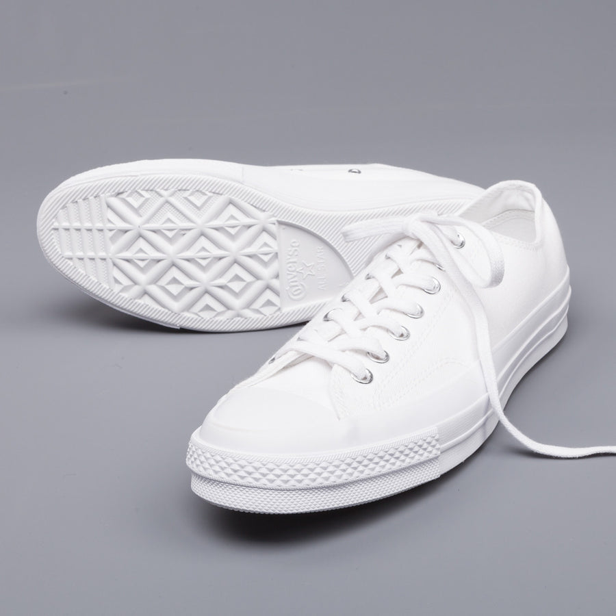 Get it now! Converse Chuck Taylor ct70 ox white monochrome