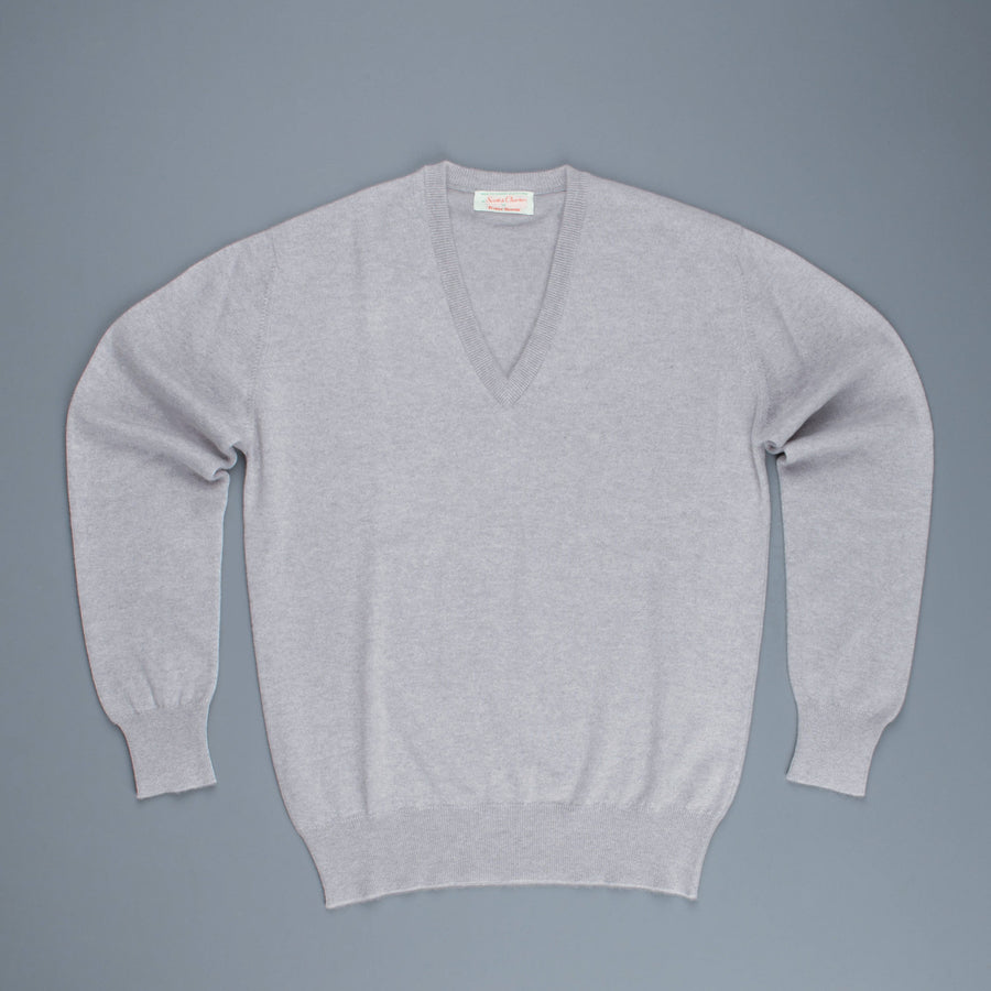 Scott & Charters x Frans Boone  Cashmere V neck Coyote