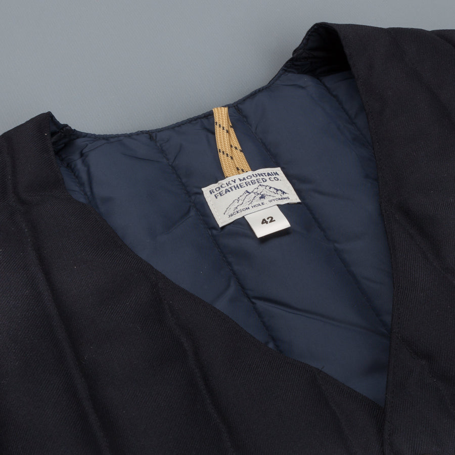 Rocky Mountain Featherbed down gillet navy