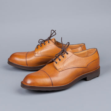 Edward Green Dundee Veldtschoen construction in Almond Country calf grain leather last 58